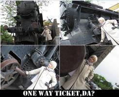 A one way ticket? by TaraAkera