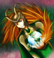 King of Midgard by TaraAkera