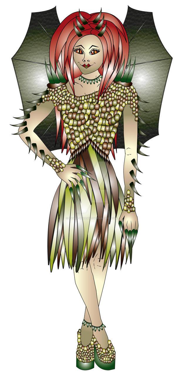 Lady Lacerta by laura-rhianne