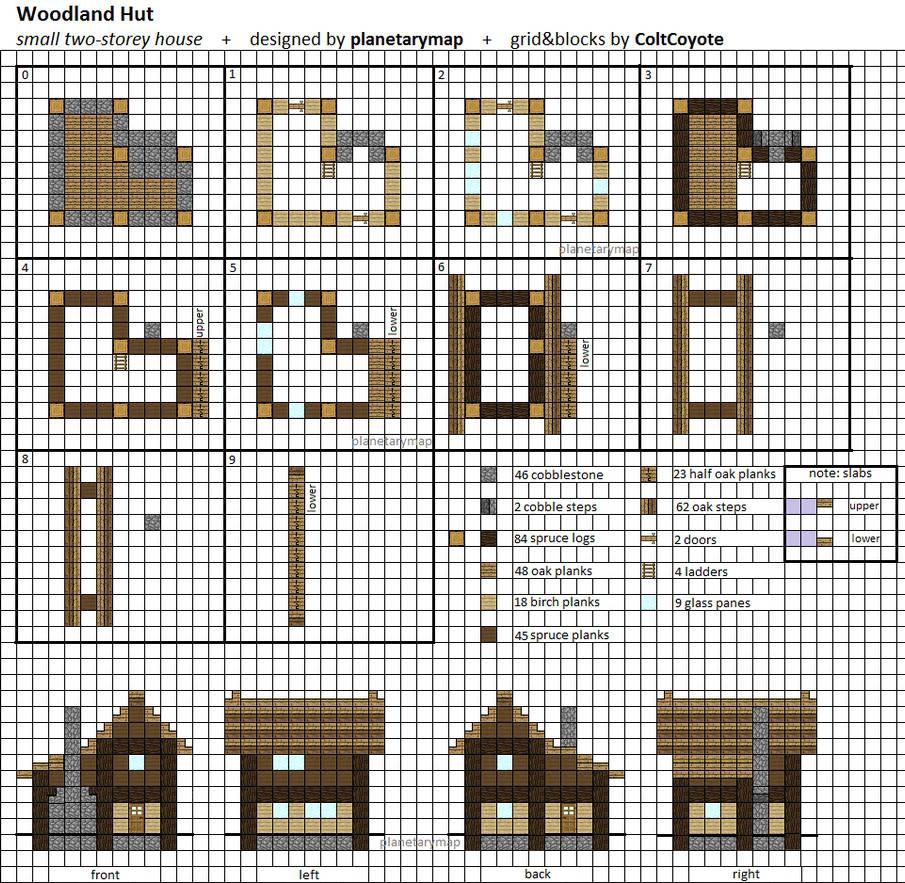 арт строения для майнкрафт схемы план скриншоты файл schematic #3