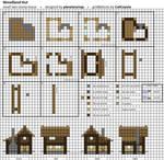 Woodland Hut - Small Minecraft House Blueprint