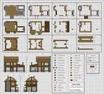 Poppy Cottage - Medium Minecraft House Blueprints