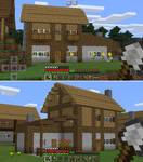 Poppy Cottage Medium Minecraft House Blueprints By Planetarymap On Deviantart