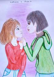 Macy and Lily by Wiryneja