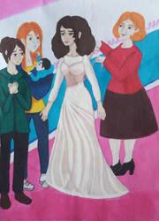 Hermione's Wedding dress