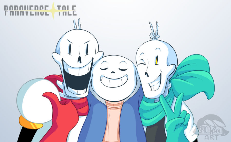 Undertale :: ParaverseTale :: Group Shot