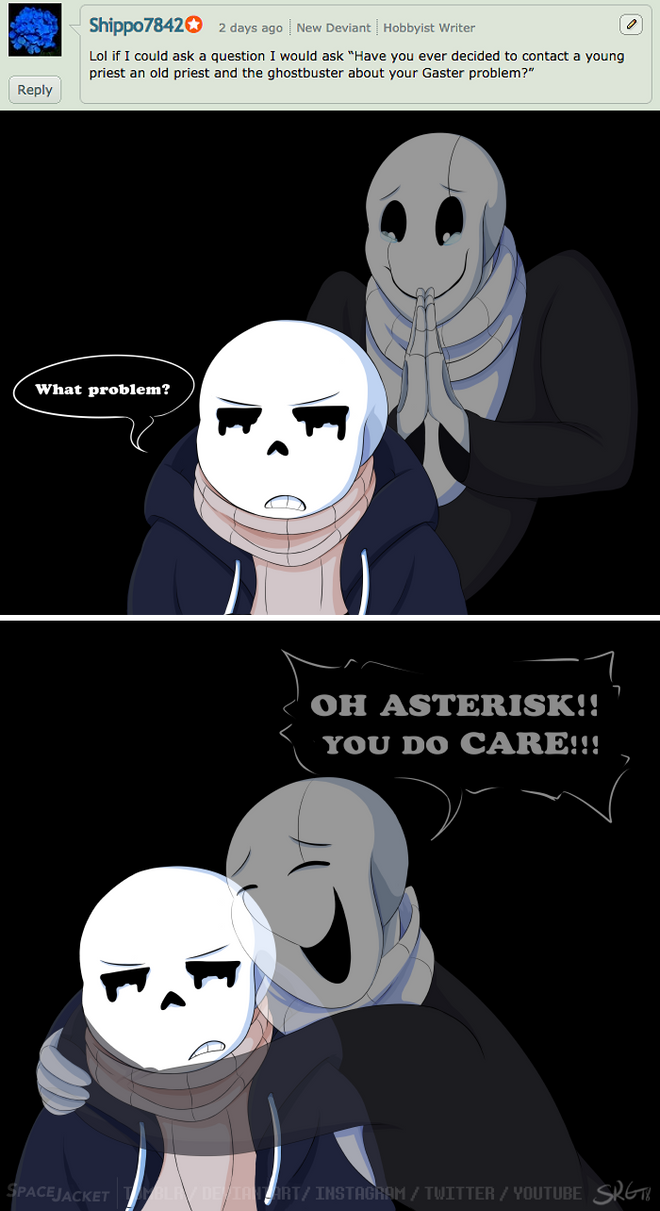 Undertale::ParaverseTale:: What's your problem ask by SpaceJacket