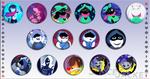 Deltarune :: Button Sets