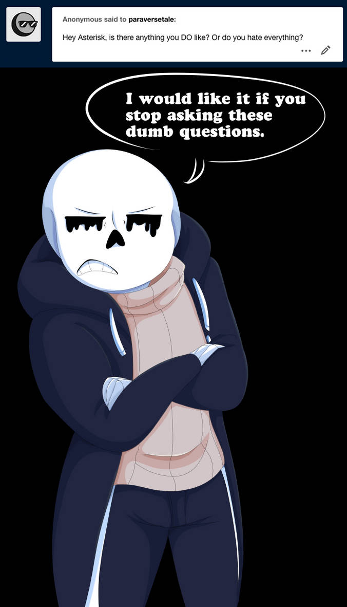 Undertale:: ParaverseTale:: What Not to Hate by SpaceJacket