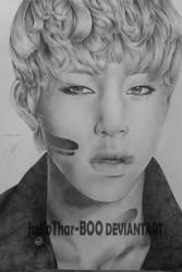 B.A.P Jung Daehyun A3 by helloThar-BOO