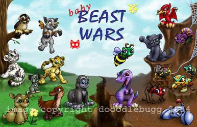 Baby Beast Wars by dooodlebugg