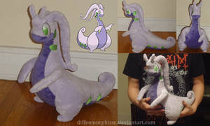 Goodra Plush by Diffeomorphism