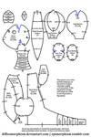 Ampharos Plush Pattern
