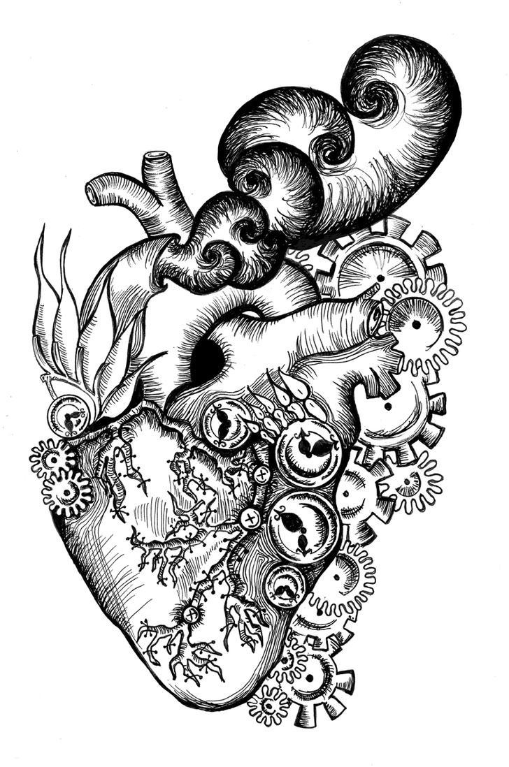 Heart drawing     Love Heart Drawings Tumblr     - HONEY