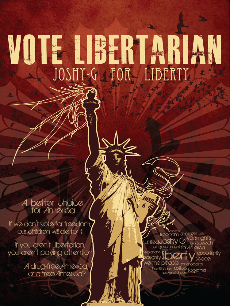 Vote Libertarian by FatalSedative