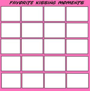Favorite Kissing Moments Meme