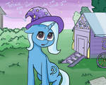 Trixie is not sure, if she can trust you
