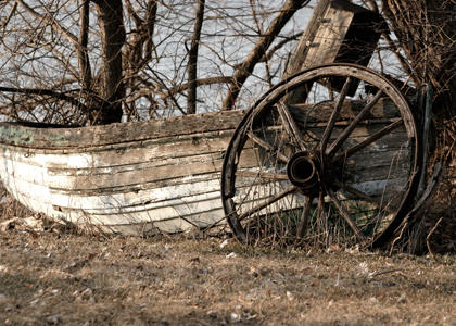 Old Boat by valleygirl52000
