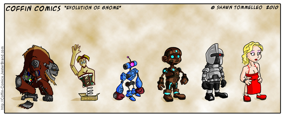 Evolution of Gnome by Jesterbrand