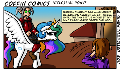 Celestial Pony by Jesterbrand