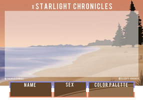 xStarlight Chronicles Application by cj-scribbles