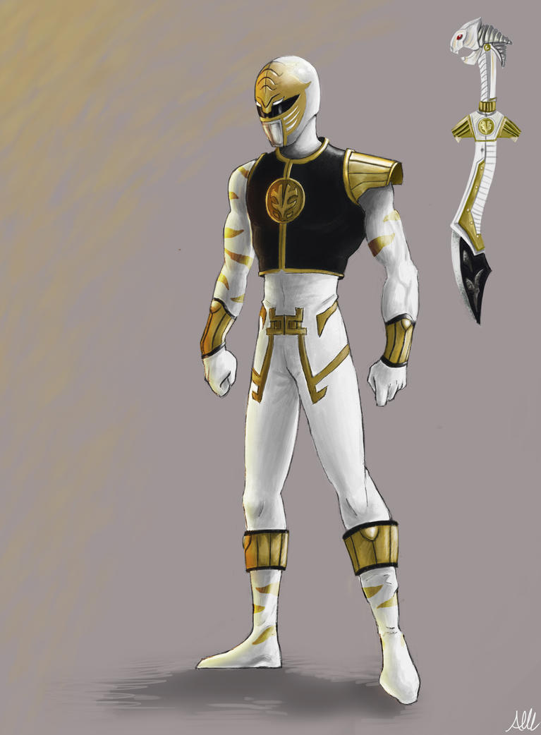 White Ranger by Modernerd