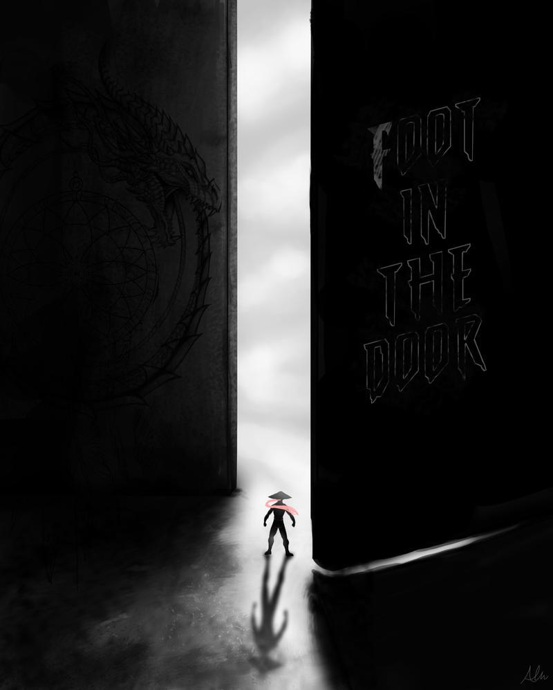 Foot in the door by Modernerd