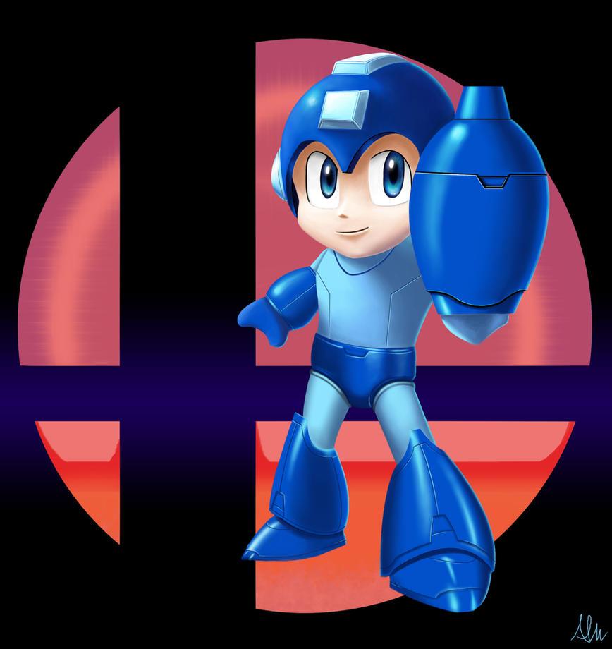 Megaman SMASH by Modernerd