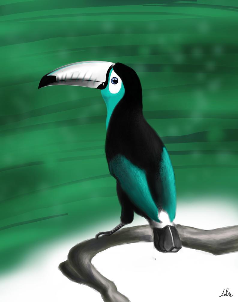 A Toucan by Modernerd