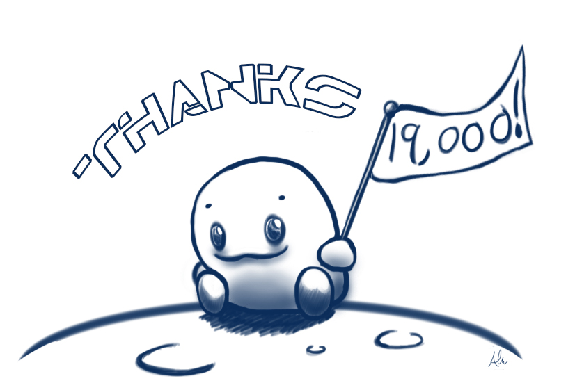 Thanks for over 19,000!!!!! by Modernerd