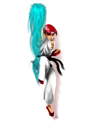 Classic Ryu by Modernerd
