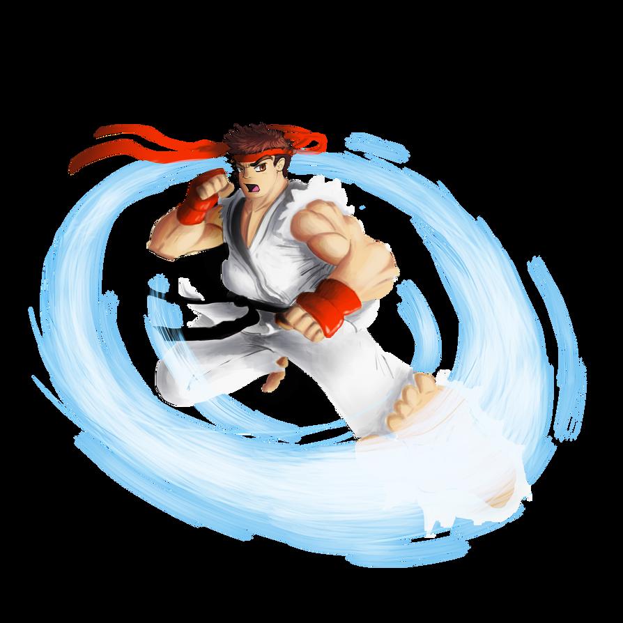 Ryu SF2 by Modernerd