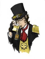 Captain Vincent Mycroft Dantes by Enoki