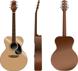 Orthographic View - Guitar