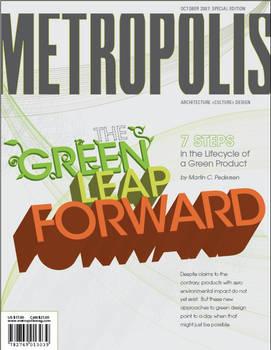 Metropolis Mag Cover
