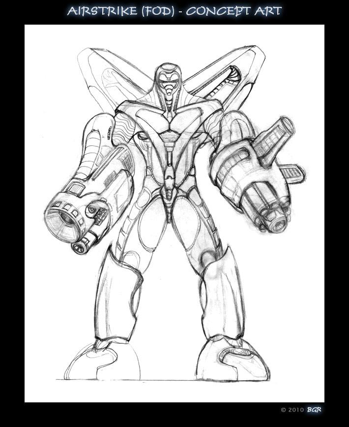 Airstrike Concept - F O D by bgr