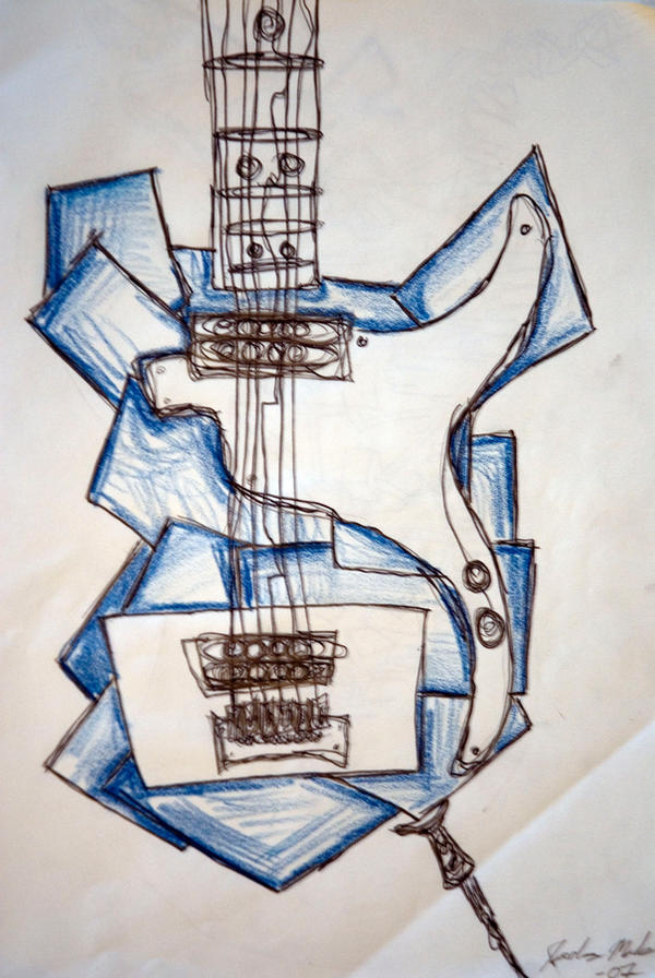 Guitar by GloRiFydeG