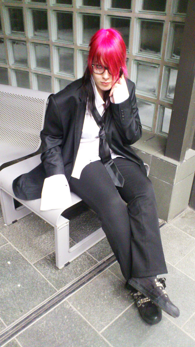 hide cosplay at Tsunacon 2012 Doubt PV by NekoOrihime
