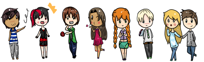 Harry Potter OCs by Veegal