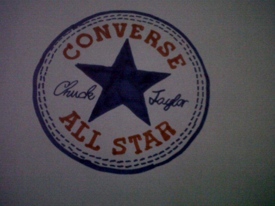 Converse All Star Logo By Teaspoonofterror On Deviantart