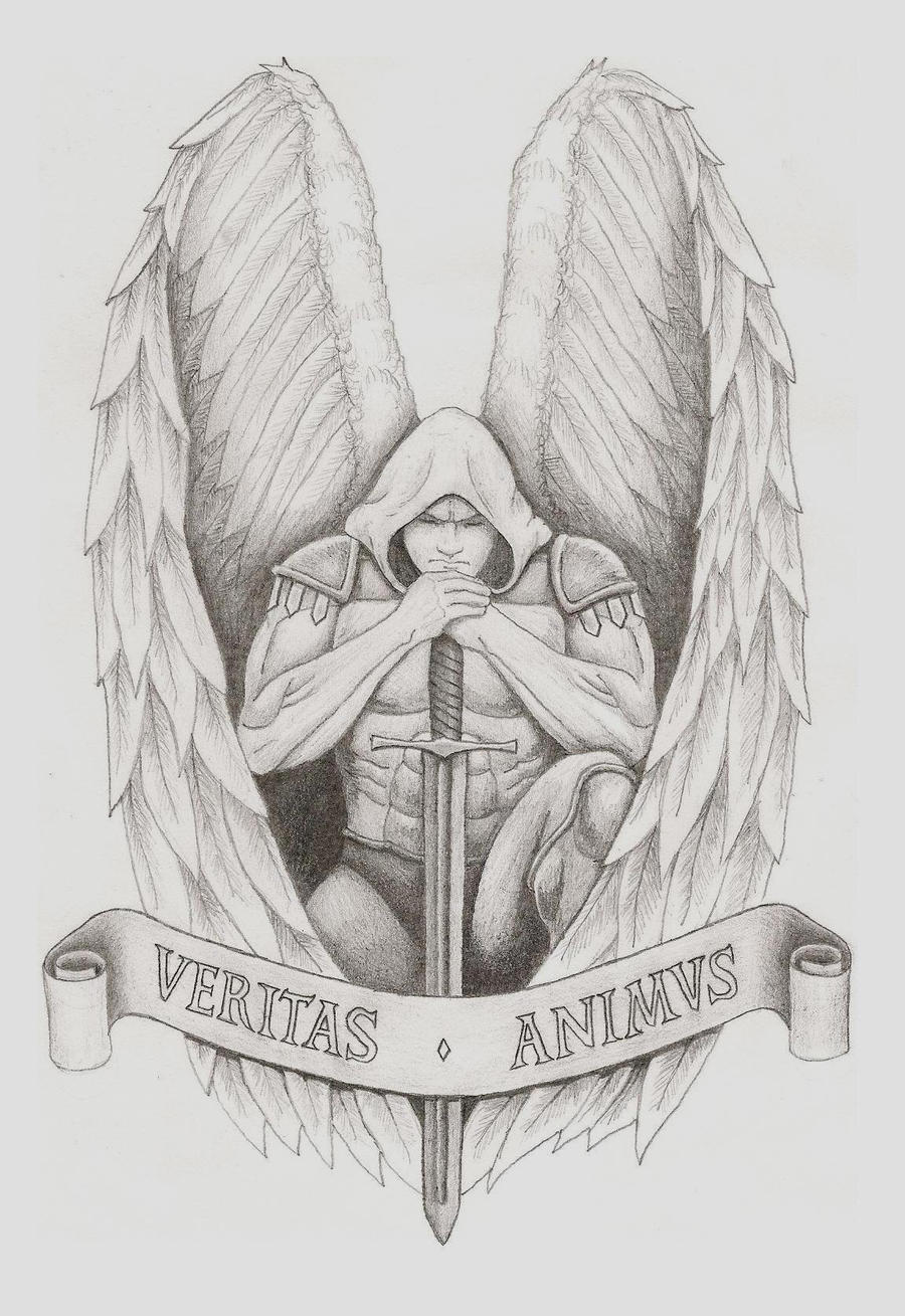 The gallery for --> Warrior Angel Michael Drawings