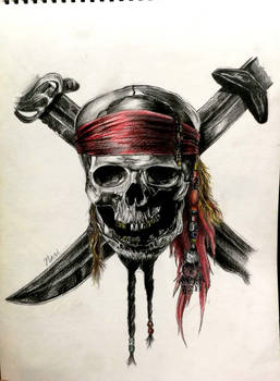 pirate of the caribbean skull