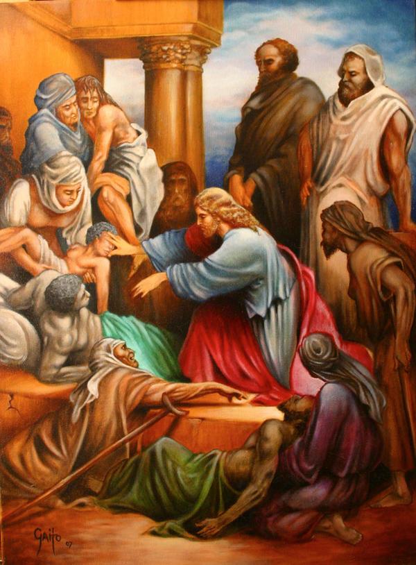 Dore' Jesus. by gaitoart