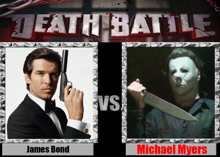 Death Battle: James Bond vs Michael Myers by Pyro-raptor