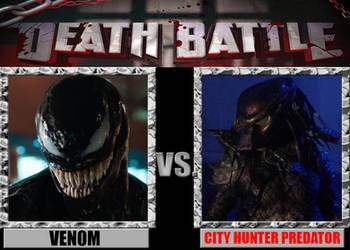 Death Battle: Venom vs Predator by Pyro-raptor