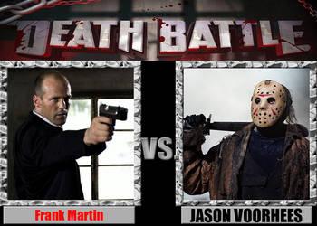 Frank Martin vs Jason Voorhees by Pyro-raptor