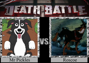 Mr Pickles vs Roscoe by Pyro-raptor