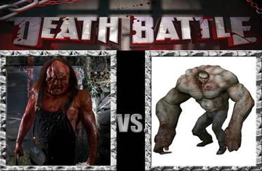 Victor Crowley vs Tank (Left 4 Dead) by Pyro-raptor