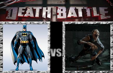 Batman vs the Wendigo from Until Dawn by Pyro-raptor