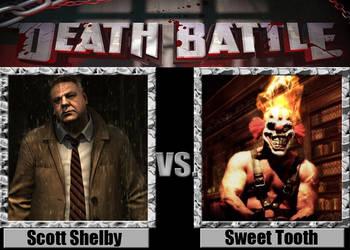Scott Shelby vs Sweet Tooth by Pyro-raptor